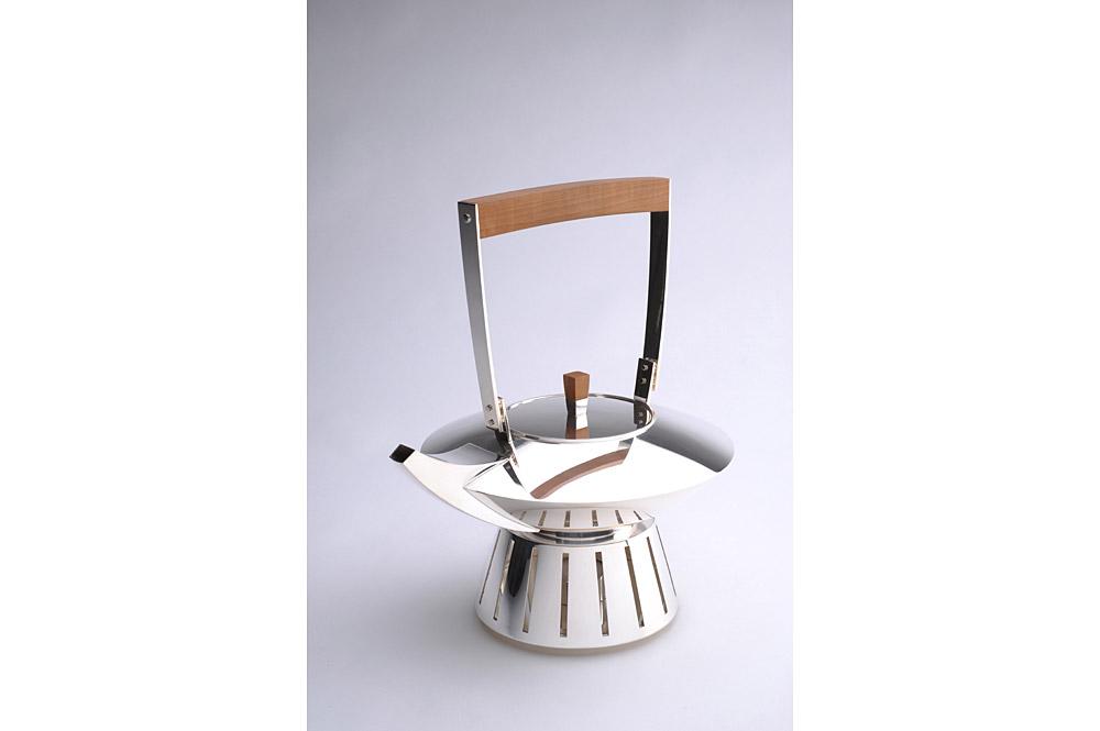 Teekanne und Stövchen